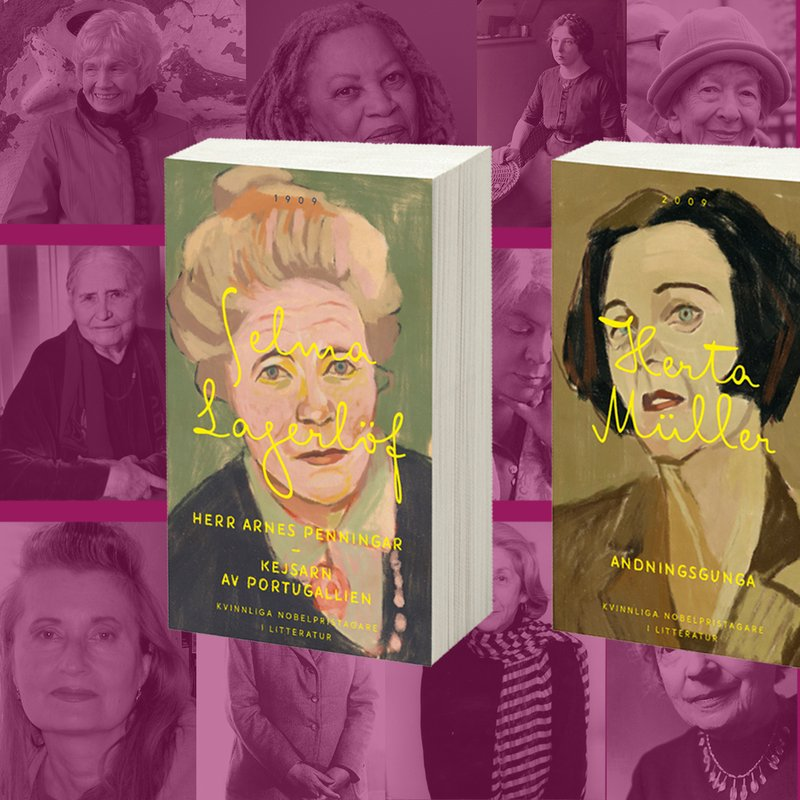 Ja! Nu ges alla kvinnliga Nobelpristagare ut igen