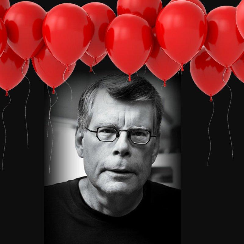 Grattis på 70-årsdagen, Stephen King!