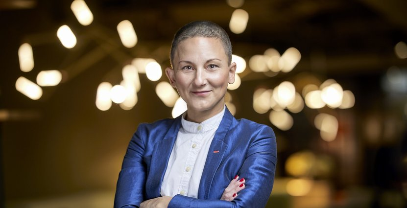 Maria Valentin tar över driftansvaret över Scandics 15 innerstadshotell i Stockholm.   Foto: Peter Knutsson