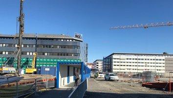 Trångt för trafikanter på Gullbergs Strandgata