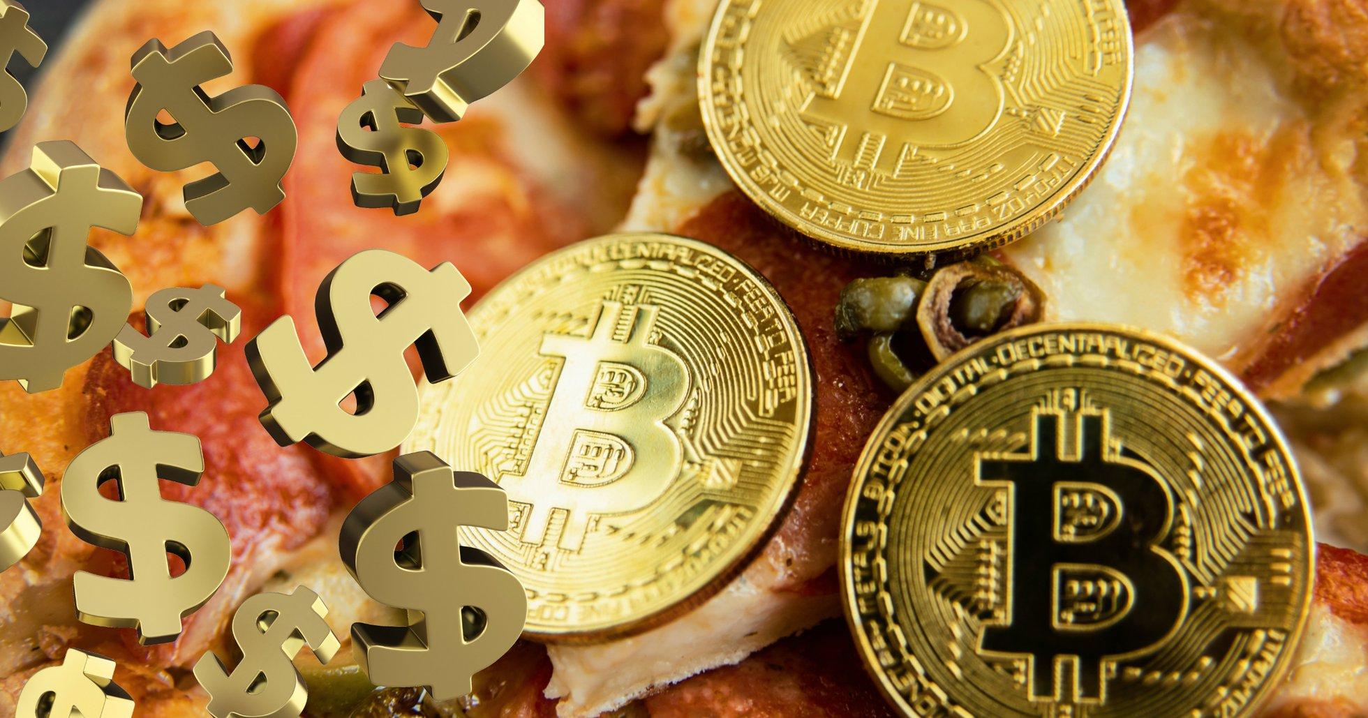 Nu kan du vinna en miljon kronor i bitcoin – genom att köpa pizza.