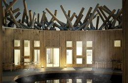 Flytande badhus ska lyfta naturturism