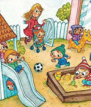6 barnböcker om att gå på förskolan