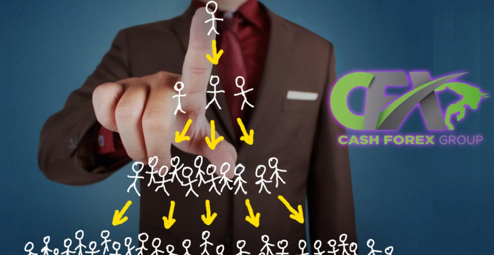 MLM company Cash FX group is accused of being a pyramid scheme