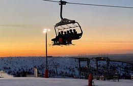 Uppåt för svenska skidanläggningar trots mild vinter
