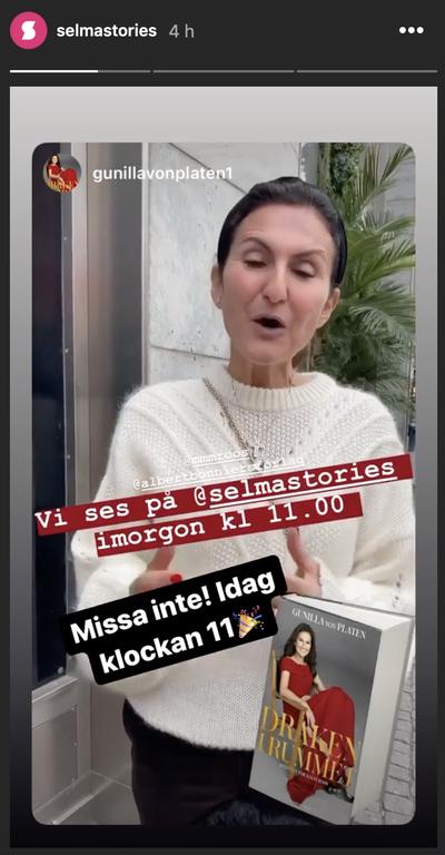Gunilla Von Platen tar över SelmaStories Instagram