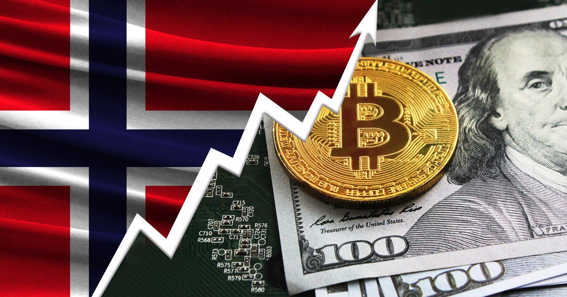 Tunga börshajar startar Norges första investmentbolag för kryptovalutor.