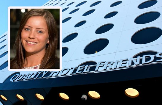 Hon blir hotellchef för Stockholms största eventhotell