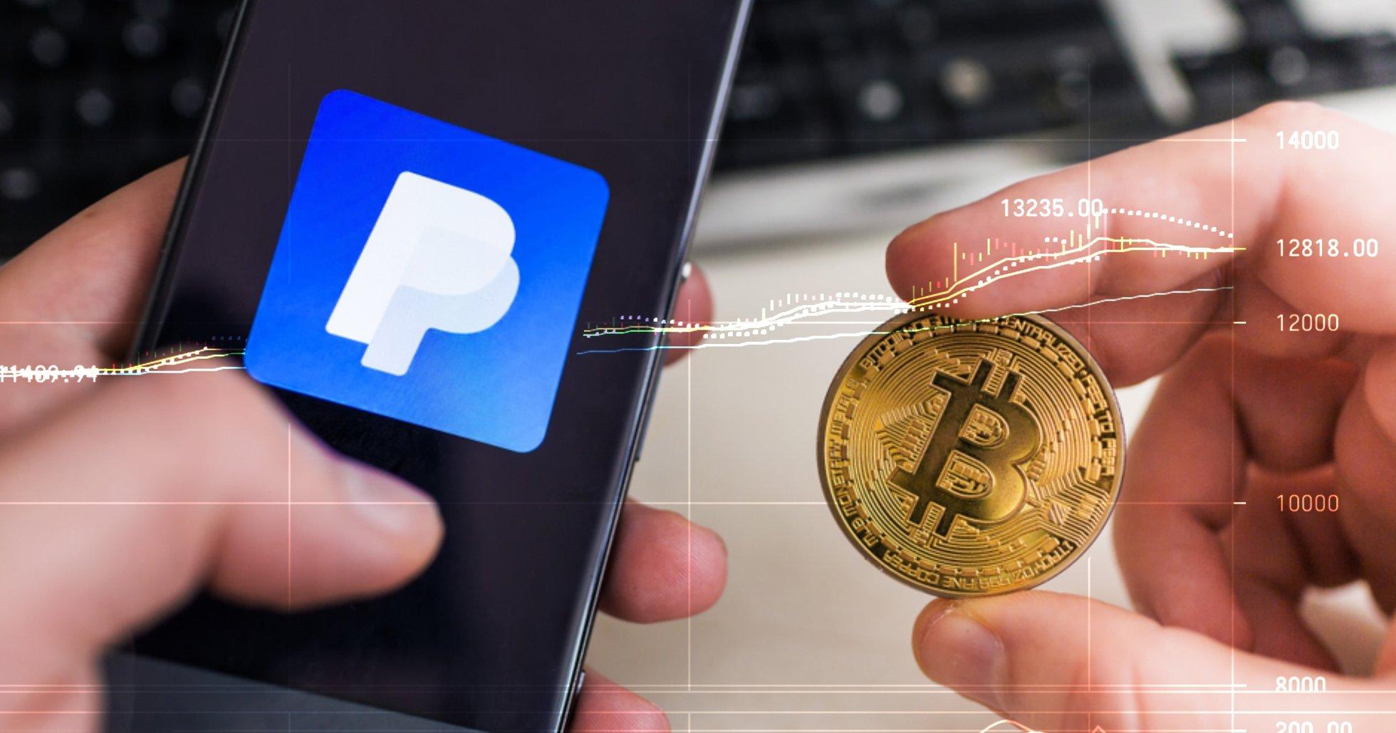 Bitcoinpriset gick över 13 000 dollar – efter att Paypal avslöjade kryptolansering