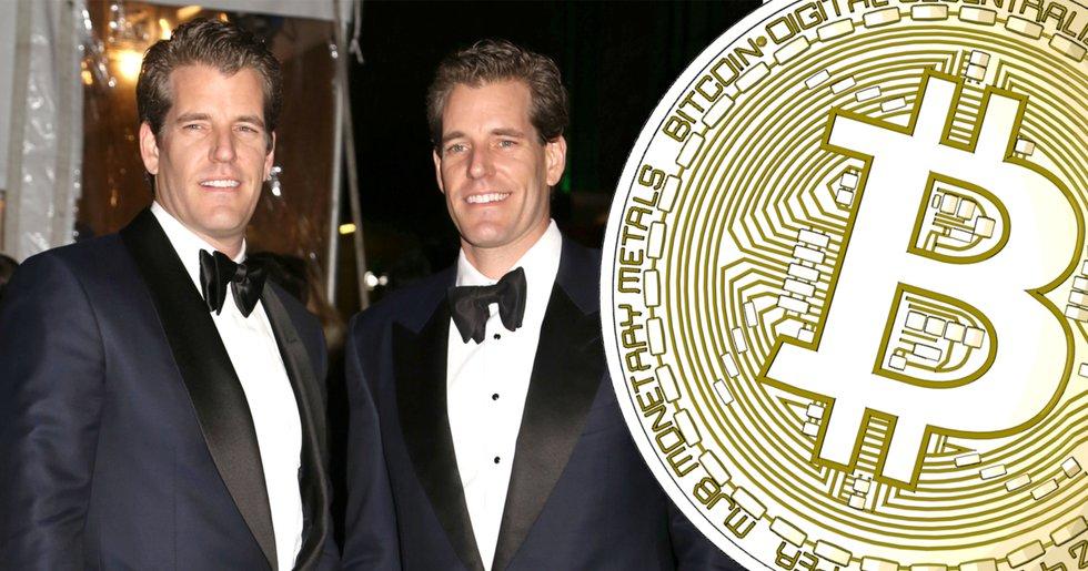 Bitcoins rusning gör Facebooktvillingarna till dollarmiljardärer