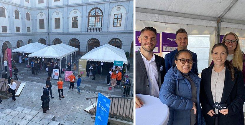Ett rekryteringsevent hölls den 14 september för att motverka personalbrist. Stureplansgruppen var en av aktörerna som medverkade. Foto: Henny Pedersen