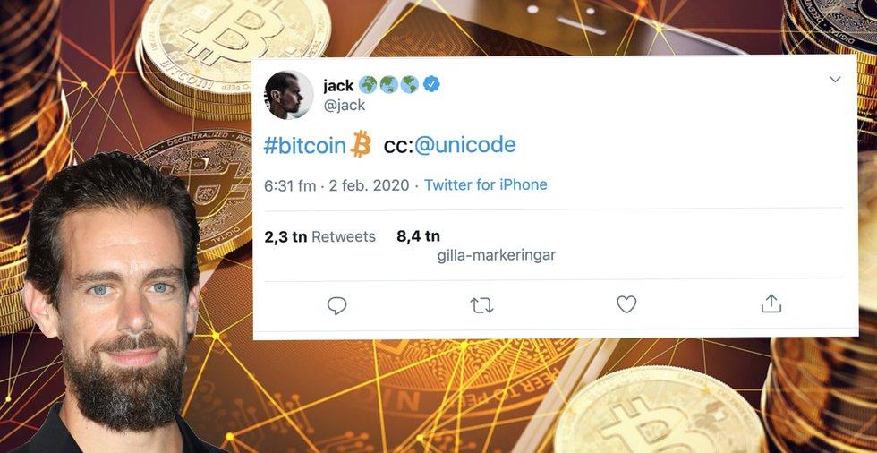 Twitter har nu en bitcoin-emoji – vd:n lobbar för att andra plattformar ska följa efter