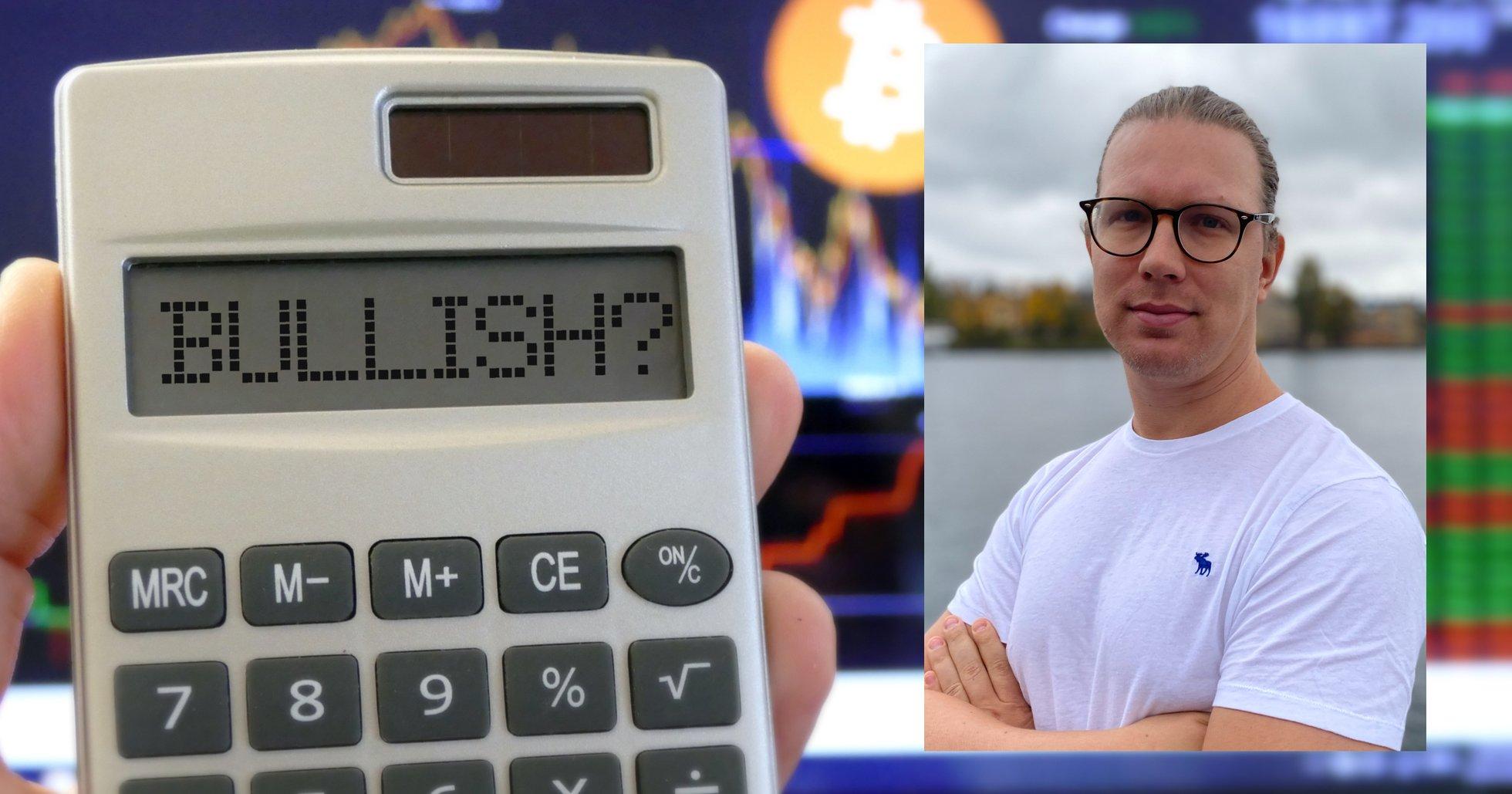 Martin Byström: Bitcoinpriset kommer stiga på samma sätt som 2013 – inte som 2017.