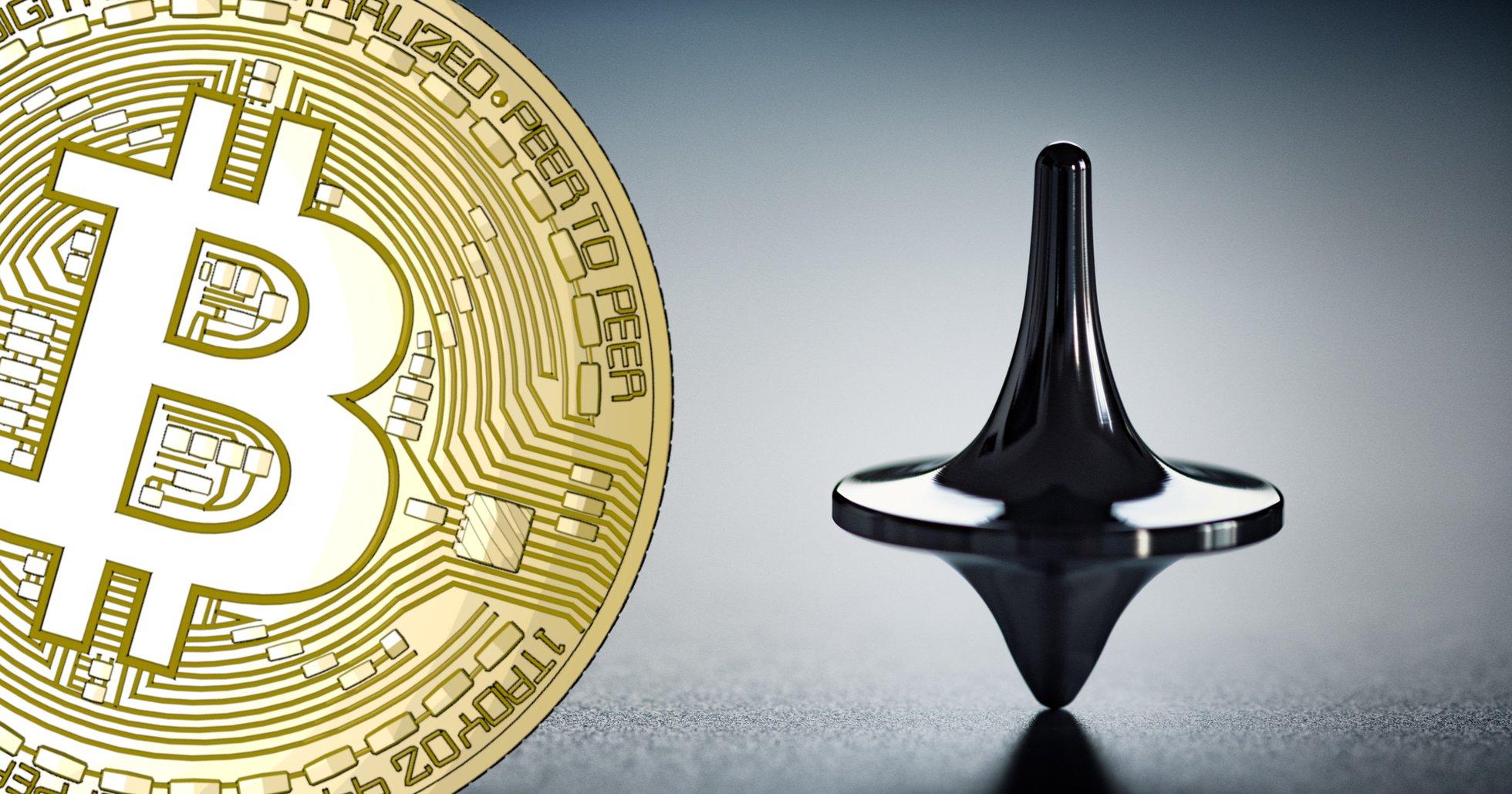 Bitcoinpriset svajigt kring 9 000 dollar.