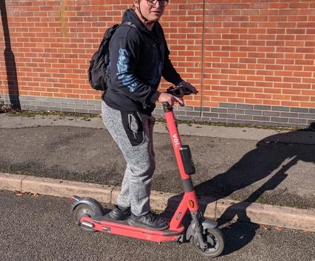A peek into how Northampton uses Voi e-scooters