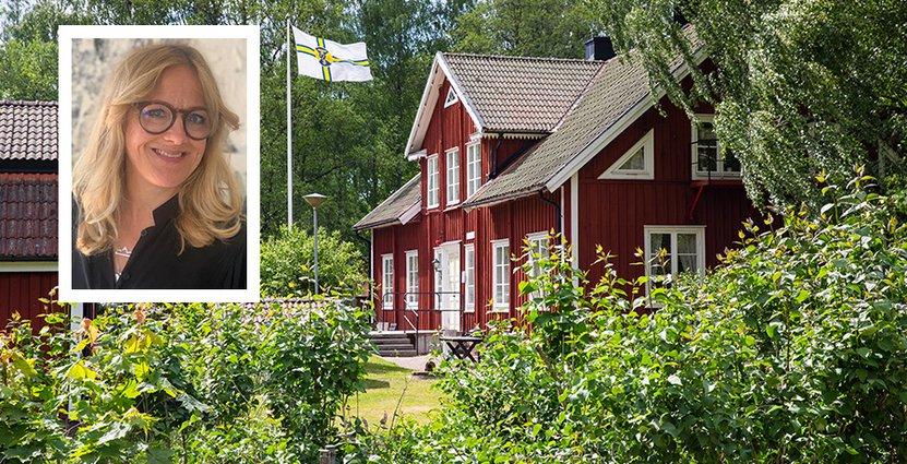 Jenny Engström, kommunikationsansvarig på STF, gläds åt det omedelbara gensvaret på STF:s vädjan om ekonomiskt stöd i sociala medier. Foto: Anette Andersson/STF