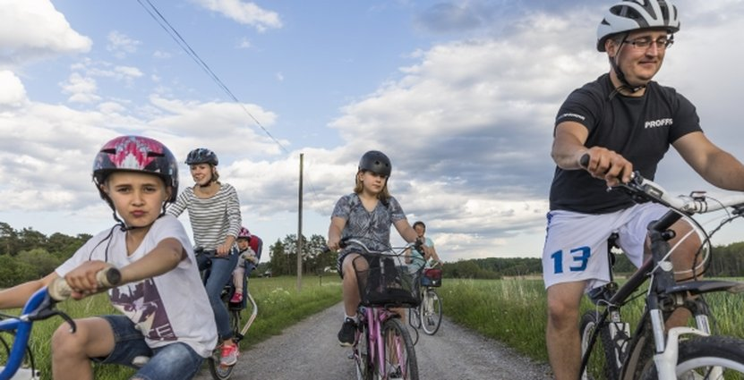 Förutom ökade intäkter och sysselsättning menar Tillväxtverket att en satsning på cykelturism kan leda till förbättrad folkhälsa och en mer hållbar inhemsk turism. Foto: Ulf Huett