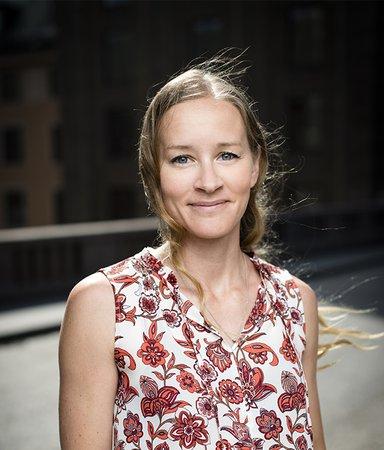 Hon har skrivit deckaren som Leif GW Persson hyllar