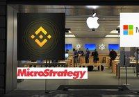 Binance lanserar nya aktietokens – för Apple, Microsoft och Microstrategy