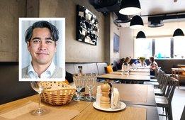 Kraftig nedgång för restaurangförsäljningen