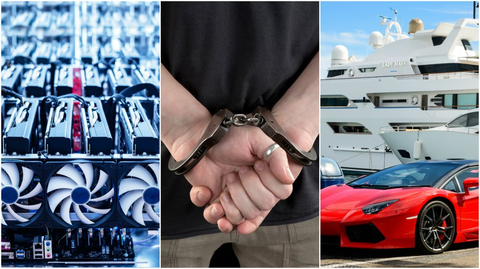 Dutch crypto CEO arrested after suspected fraud – spent millions on luxury products.