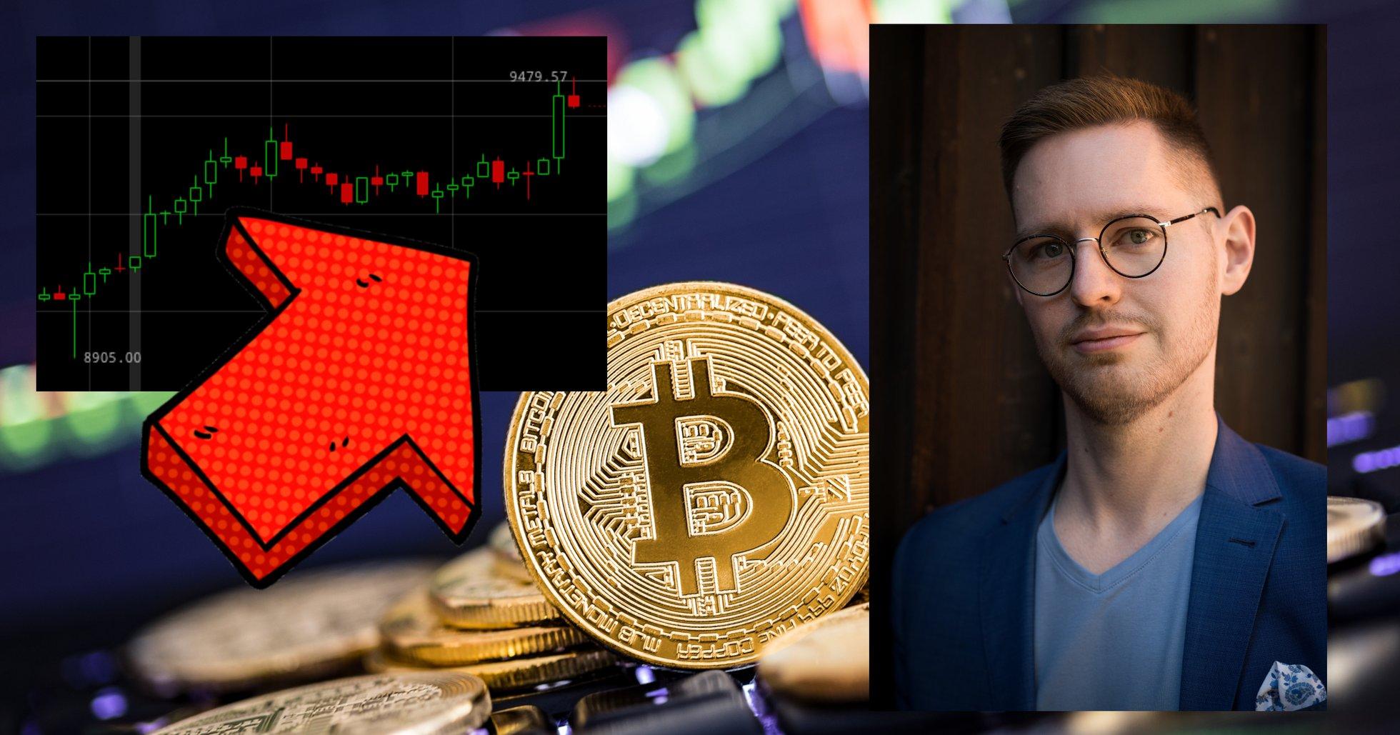 Bitcoinpriset får ny fart – har stigit över 6 procent sedan i helgen.