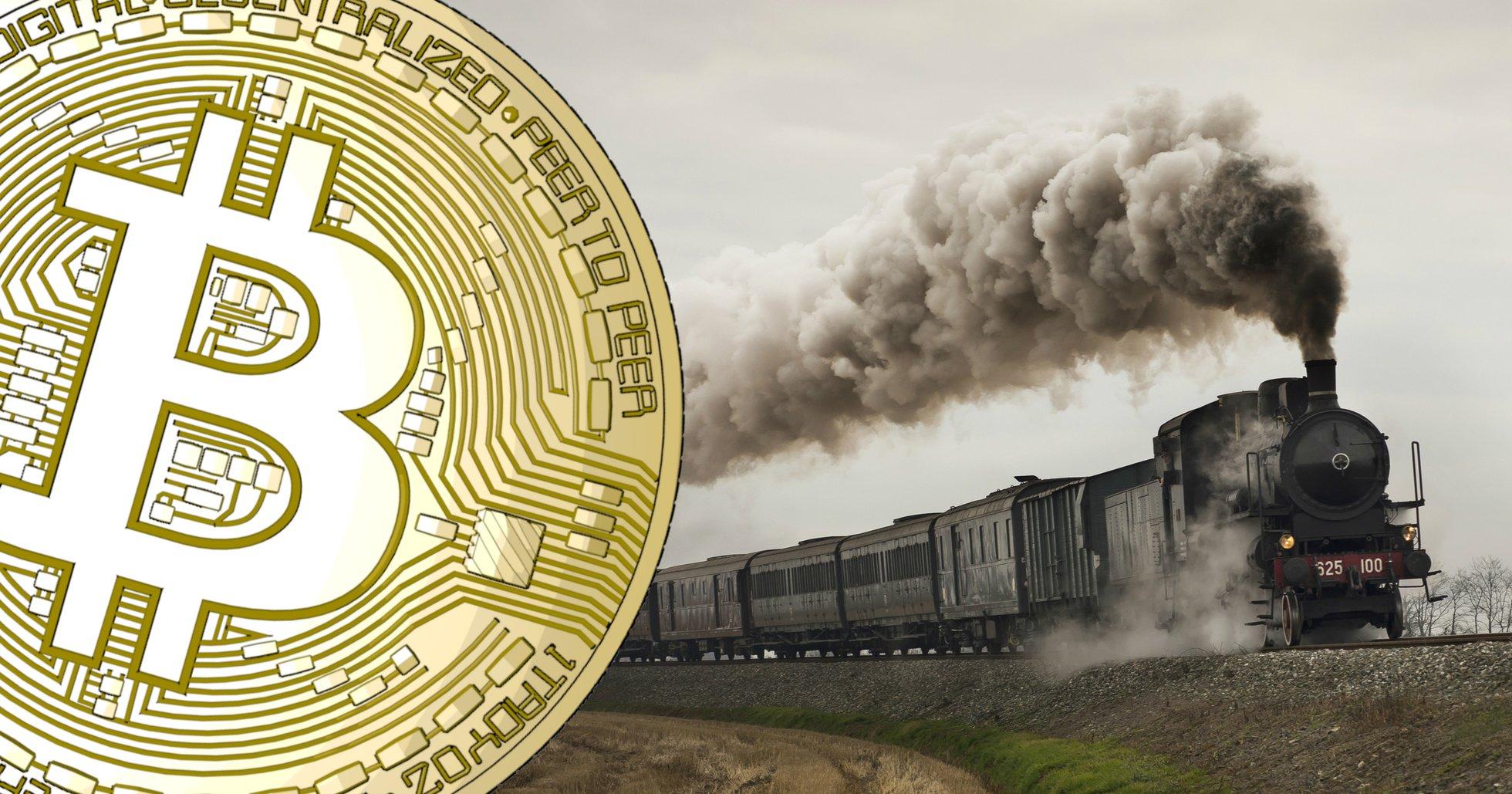 Bitcoins marknadsdominans är nu över 70 procent.