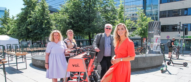 Enormous demand for e-scooters in Norway: Voi calls for more parking spaces and a tender competition on behalf o...