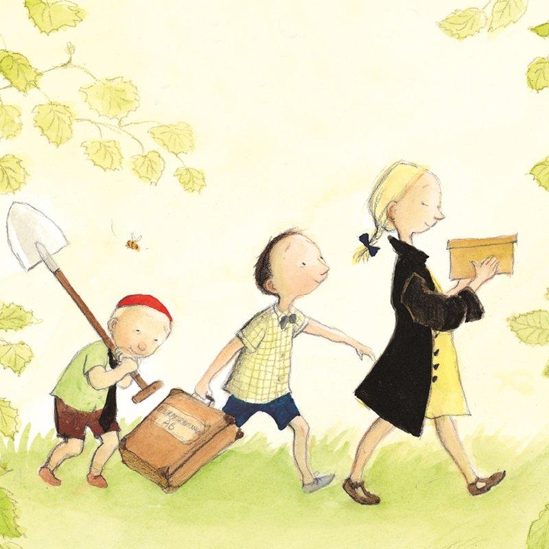 7 barnböcker som handlar om döden