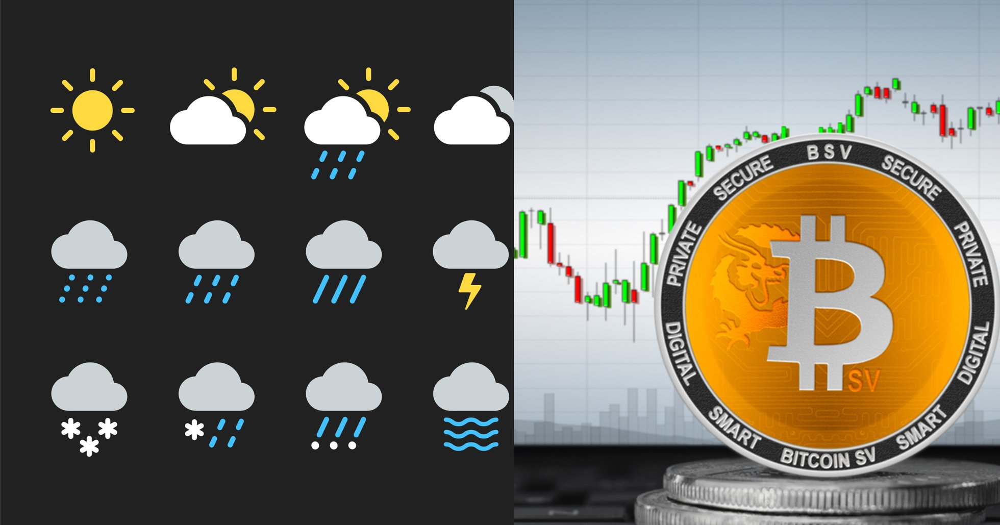 New data reveals: 98 % of all bitcoin sv transactions made in weather app