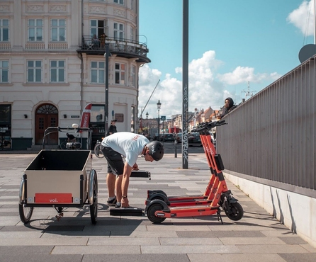 Voi e-scooters aim to help us breathe easier on Clean Air Day