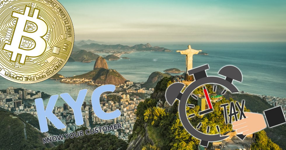 Brazil's tax authorities want to tighten rules for cryptocurrencies.