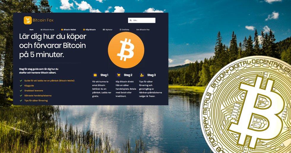 Här är nya svenska sajten som hjälper dig komma igång med din kryptohandel.
