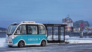 Självkörande bussar testas på Lindholmen