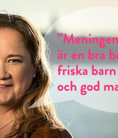 Sju genialiska saker Malin Persson Giolito sagt