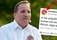 Socialdemokraternas Twitterkonto hackat – bytte namn till