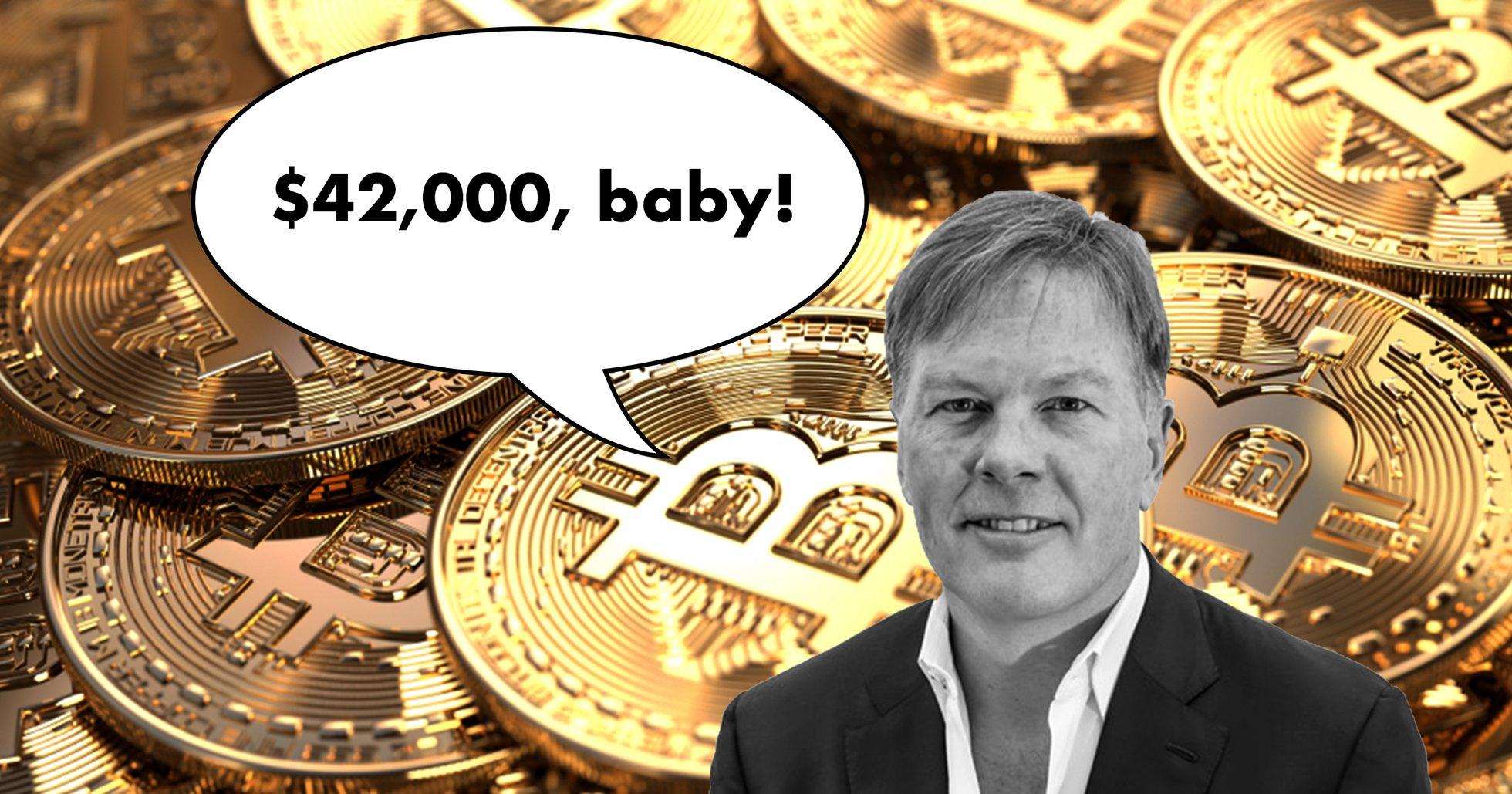 Kryptoprofilen: Bitcoin borde nå 42 000 dollar innan året är slut