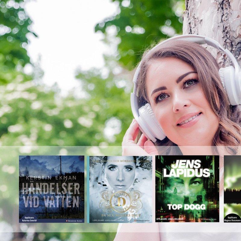 5 böcker att lyssna på inför årets Crimetime Gotland