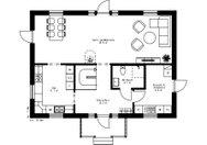 Se planritning för Villa Herrskog