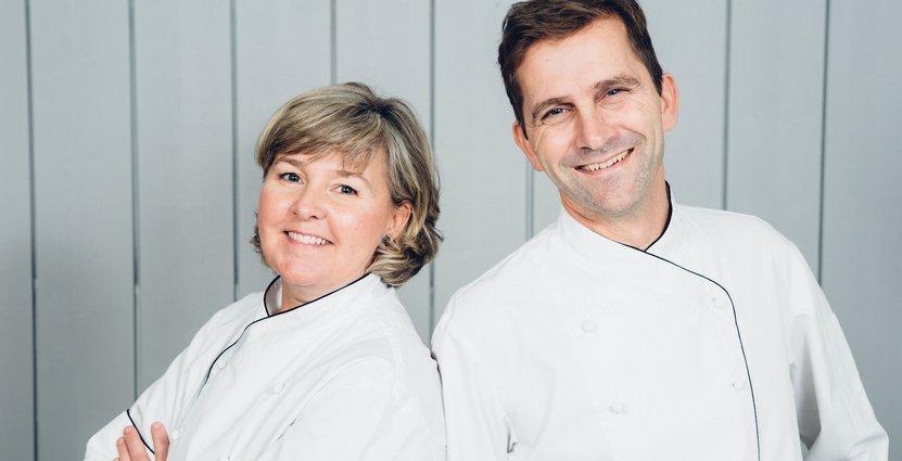 Krögarparet Katja och Patrick Palmdahl letar kockar på egen hand.