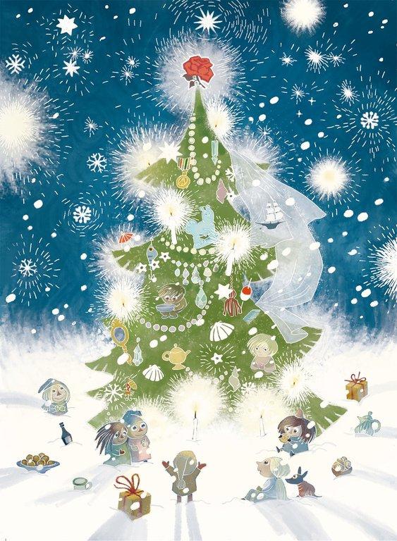 Ur <em>Julen kommer till Mumindalen</em>