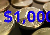 Kryptoprofilens undersökning: Ethereumpriset ska upp till 1 000 dollar igen