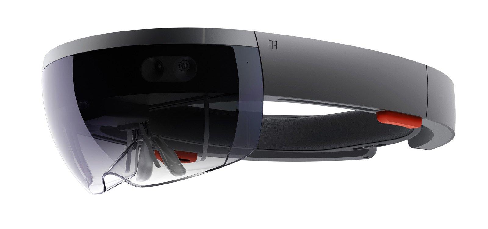 <p>微软已推出混合现实头显设备HoloLens。</p>