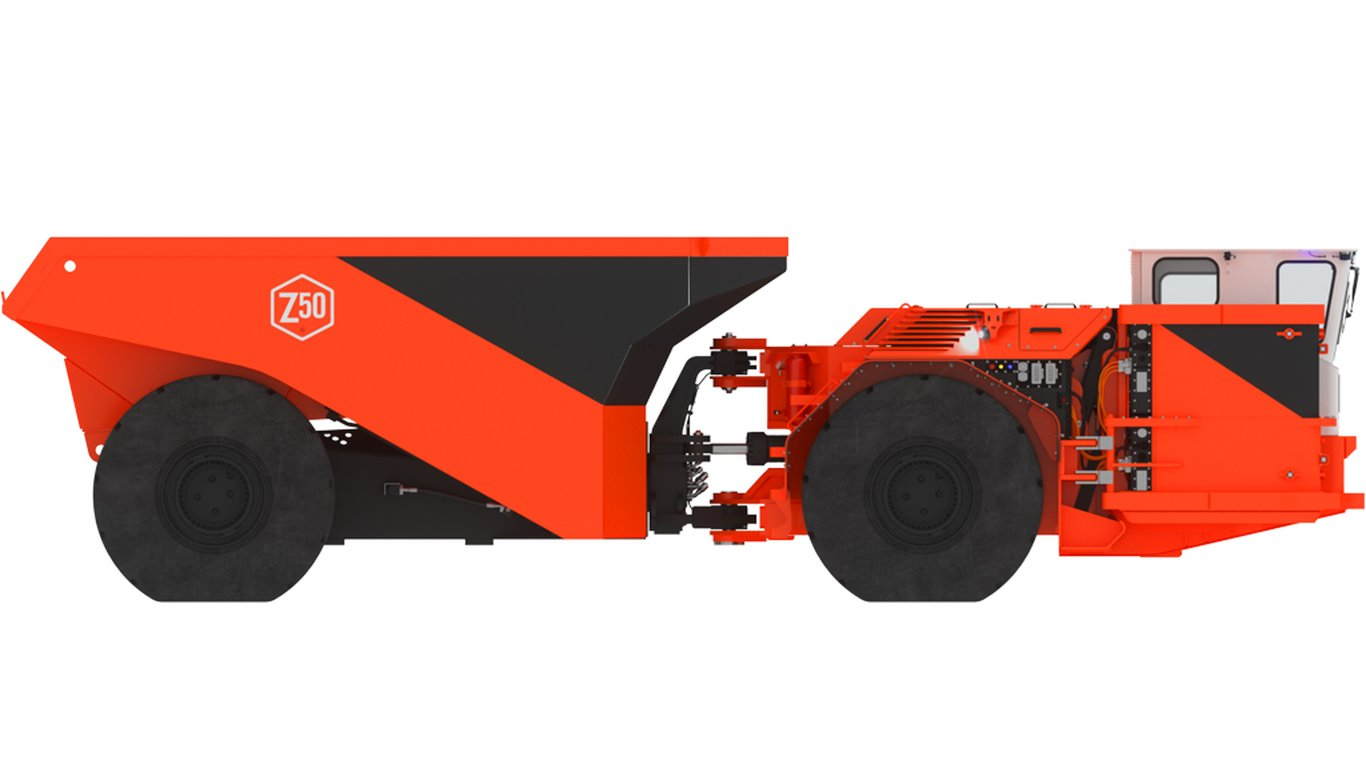 <p>The Z50 50-tonne haul truck generates twice the peak horsepower and one-eighth the heat of its diesel equivalent.</p>