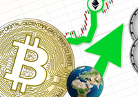 Daily crypto: Markets are rising and ethereum increases the most of the biggest currencies