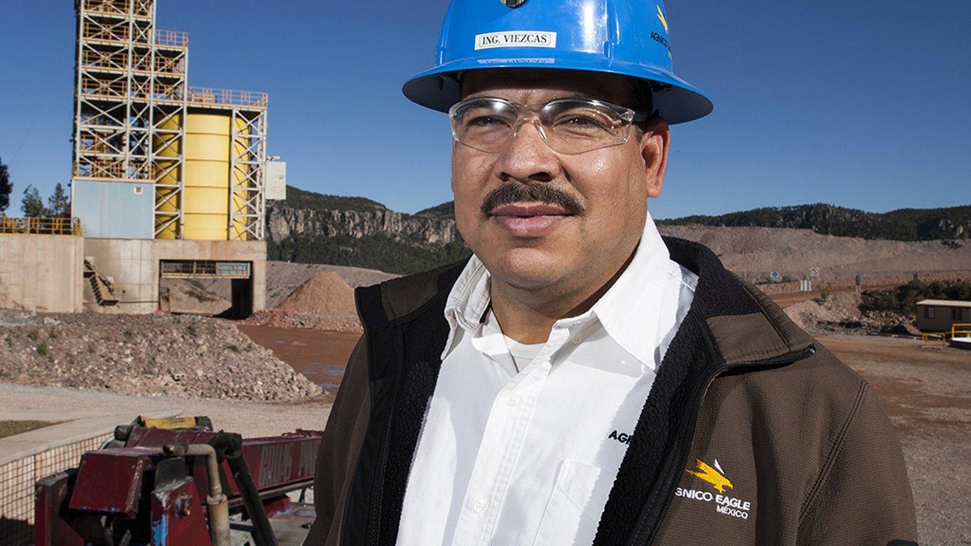 <p>Fernando Viezcas, responsable des opérations souterraines chez Agnico Eagle.</p>