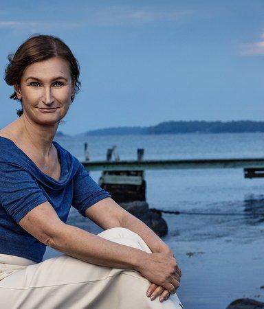 """Viveca Sten tar långsemester i skärgården: """"6 utgivna böcker på 13 månader, där går gränsen"""""""