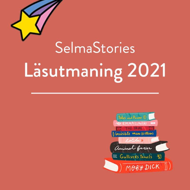 Anta SelmaStories läsutmaning 2021