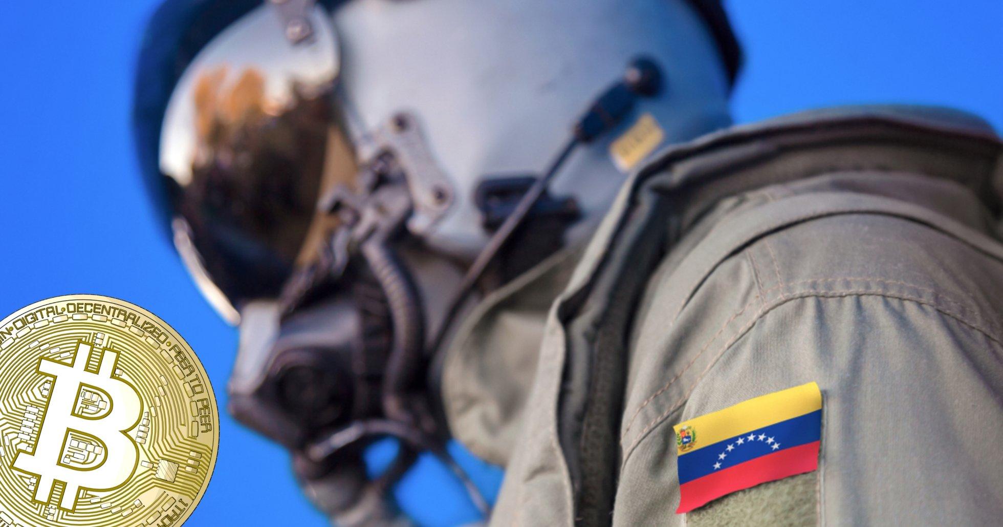 Ekonomisk kris och sanktioner – nu minear Venezuelaz armé bitcoin