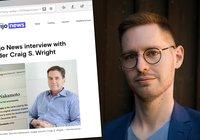 Vi försökte intervjua Craig Wright – det slutade med att han kallade oss fula saker